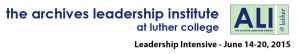 Archives Leadership Institute